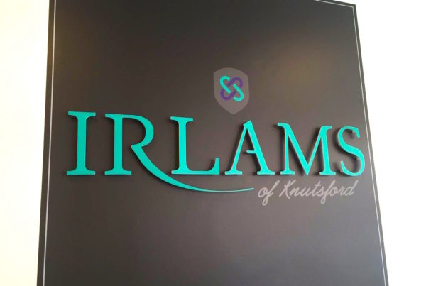 Logo design for Irlams of Knutsford
