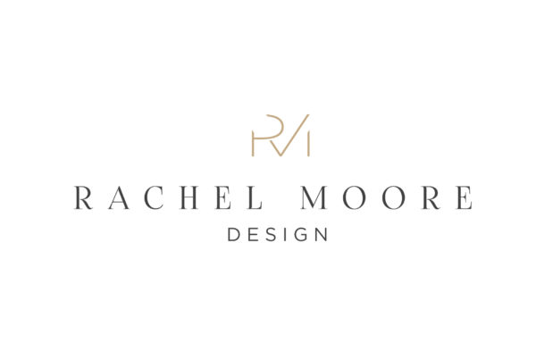 Logo design for Rachel Moore Interior Design, Cheshire
